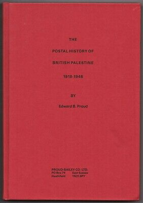 POSTAL HISTORY of BRITISH PALESTINE 1918-48, Proud, Post Offices, Postmarks