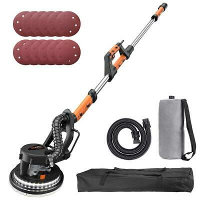 TACKLIFE Drywall Sander 6.5A, Automatic Vacuum System, 12 Sanding Discs,...