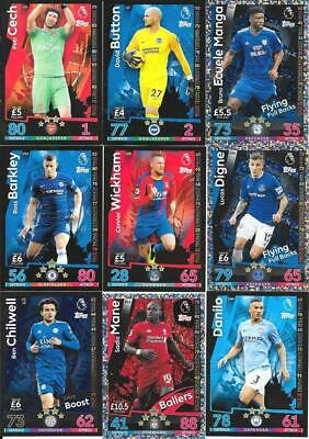 40 Superb Match Attax Extra Cards 2019 - To0 Clear-  Many Clubs