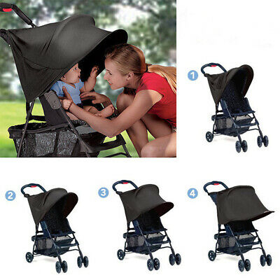 Baby/Child Pushchair Stroller Pram Buggy Sun Shade Canopy Cover Universal S9I8Y