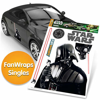 STAR WARS DARTH VADER with LIGHT SABER Automotive Graphics Decal Kit