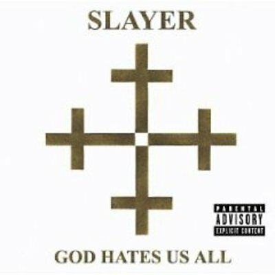 Slayer - God Hates Us All [New CD] Explicit