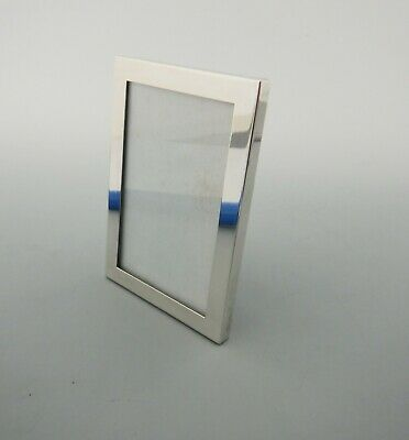 Art Deco Sterling Silver Photo Frame 4.5 X 3.0 Inch