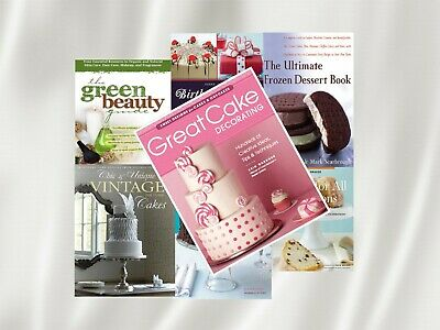 Great Cake Decorating PDF E- Book + Bonus books + Resell rights + Free shipping