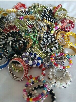 Joblot Clearance Wholesale Kids Assorted Bracelets 148 pcs