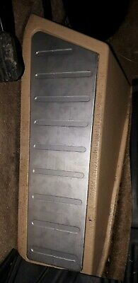 Mercedes ML W163 Foot Rest Plate Stainless.  270CDi.320.350.AMG. 99-05.