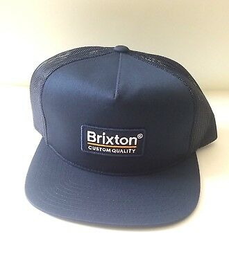 37725262 Brixton Palmer Mesh Trucker Cap Unisex Snapback Hat New With Tags NWT  #hipster