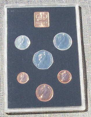 1971 proof Year set in plastic case, as issued by the Royal Mint