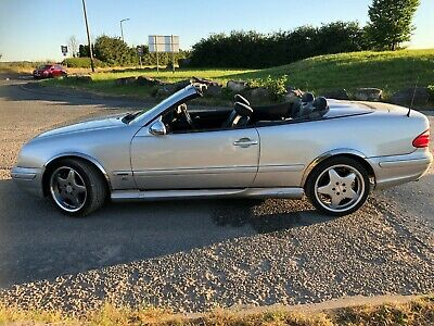 2002 Mercedes Benz CLK 430 Avantgarde Convertible Automatic