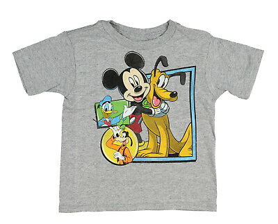 Disney Toddler Boys' Mickey Mouse and Best Pals T-Shirt Tee