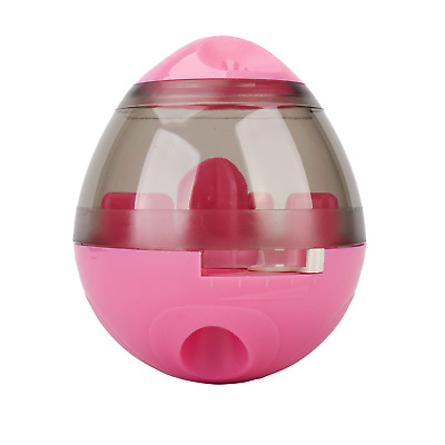 Pet Food Ball, FUN and INTERACTIVE Treat, Dispensing Ball for Dogs & Cats, IQ to