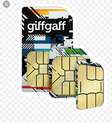 GIFFGAFF SIM CARD £5 FREE PAY AS YOU GO PAYG **POSTED 1ST CLASS MAIL**  ONLY 20p