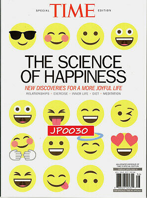 Time Special Edition 2019, The Science Of Happiness, New/Sealed, Updated/Reissue