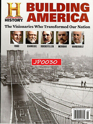 History Magazine 2019, Building America, New/Sealed
