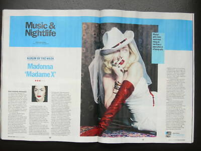 TIME OUT LONDON No 2534 11–17 JUNE 2019 FREE EVENTS REVIEWS MADONNA MADAME X