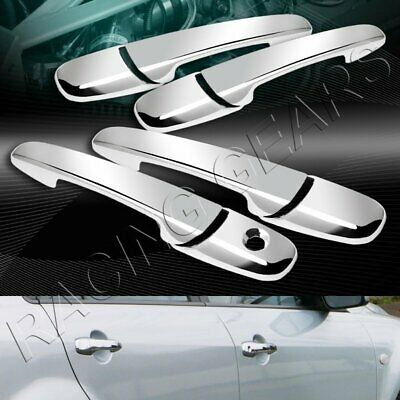 06-11 Lincoln MKZ+MKX Triple Chrome plated ABS 4 Door Handle W//O PSG kh Cover