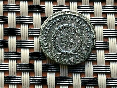 Constantine I The Great 308-337 Ad Ae Follis Vot In Wreath Ancient Roman Coin