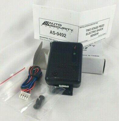 AUDIOVOX AS-9492 SHOCK Sensor **BRAND NEW** - $9 99 | PicClick