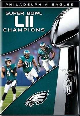 PHILADELPHIA EAGLES SUPER BOWL LII 52 CHAMPIONS New Sealed DVD