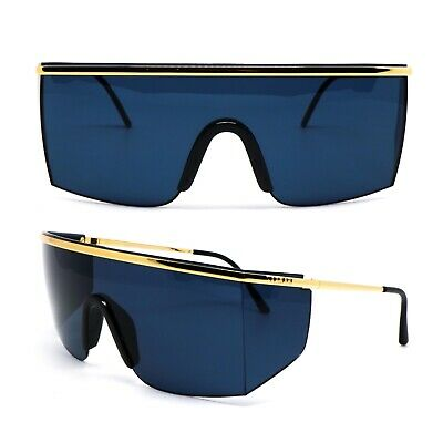 Occhiali Gianni Versace 790 030 Vintage Sunglasses New Old Stock 1990'S
