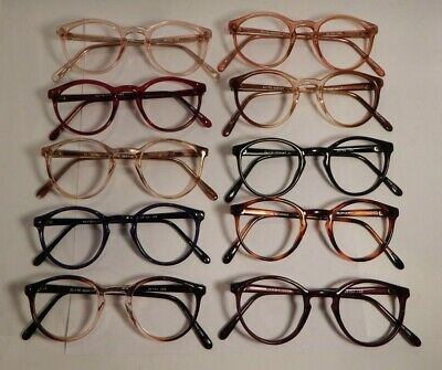 Vintage 10 Pc. Lot Elite Dumont Assorted Colors 46/24 Eyeglass Frame NOS #S10