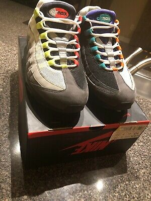 NIKE AIR MAX 95 ID NEON PATENT 314350 992 US 11 blends og