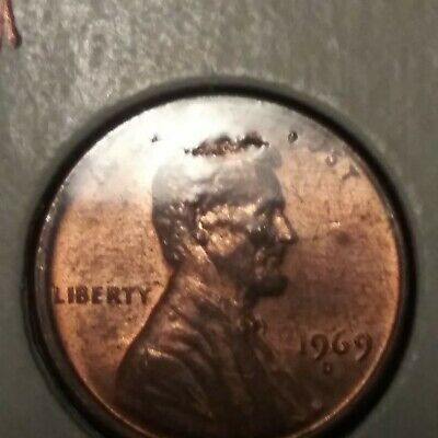"1969-D/S Or D/D LINCOLN CENT DDO / RPM DOUBLE DIE OBVERSE ""SUPER SCARCE"" MS GEM!"