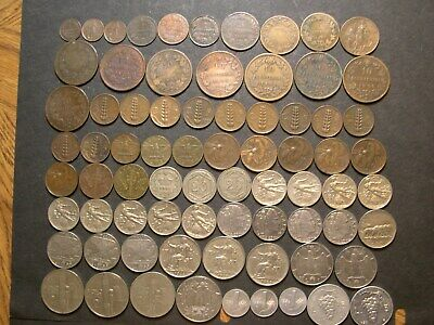 Italy collection 1852 - 1998. All different dates. Many AU./UNC