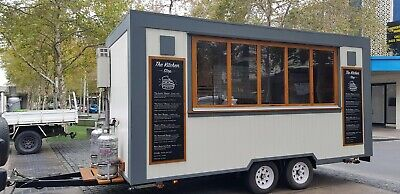 Food trailer food truck and business opportunity
