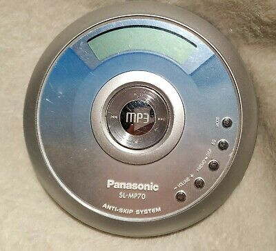 Panasonic SL-MP70 Portable CD/MP3 Player Discman Tested and WORKING