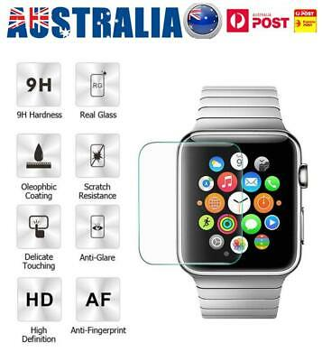 For Apple Watch Series 3/2/1 HD Tempered Full Screen Protector Film 38/42MM AU
