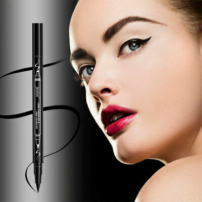 2 in 1 Women Waterproof Double Sided Eye Liner Eyeliner Liquid Eyebrow Pencil