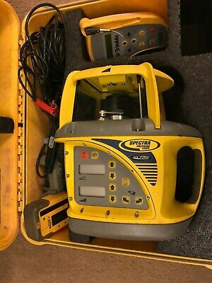 Trimble Spectra Precision GL 722 GL722 Dual Grade Laser Package w/HL700 & RC703