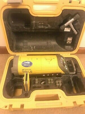 Topcon TP-L5B Red Beam LED Plumb Alignment Pipe Laser W/ RC200 Remote