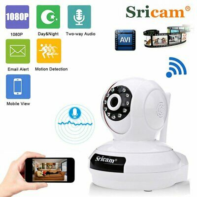 Sricam 1080P 2.0MP Wireless IP Camera Home CCTV Security Camera WiFi Audio CA