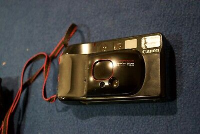 Bargain: Canon Sure Shot 38mm Film Camera + case + strap