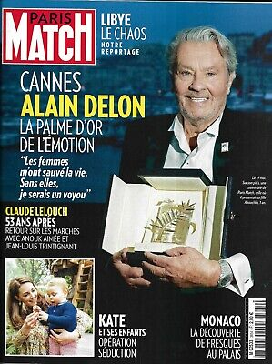 PARIS MATCH n°3654 23/05/2019  Alain Delon/ Festival de Cannes/ Kate Middleton