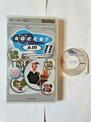 Soccer Am Ii 2 Sky Sports Umd (2005) Sony Psp R2 Pal- Uk Freepost