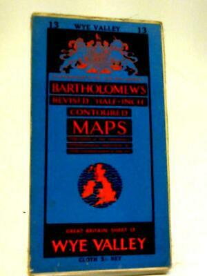 Revised Half-Inch Contoured Maps, Great Britain Sheet 13 (Anon) (ID:32352)