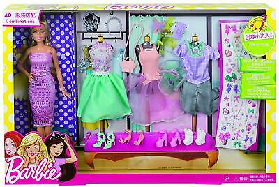 Barbie Fashion Activity Giftset with Clothes Brand New Fast Postage