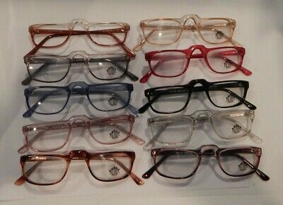 Vintage 10 Pc. Lot Elite Sentra Assorted Colors 46/24 Eyeglass Frame NOS #S13