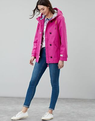 662dc87d3 JOULES WOMENS COAST Waterproof Jacket in PINK - £50.95 | PicClick UK