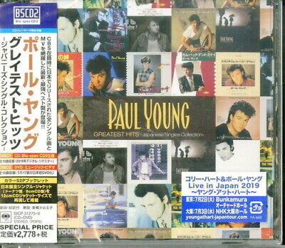 Greatest Hits Japanese Singles Collection - 2 DISC SET - Paul Young (CD New)