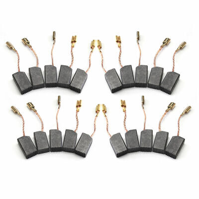 Copper Wire Motor Carbon Brushes 20 Pcs/Set Fit Electric Hammer Drill High Qua