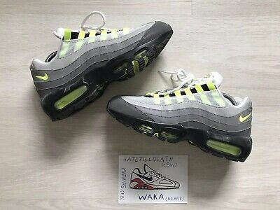 nike AIR MAX 95 PRM BLACKVOLT ASH WHITE bei