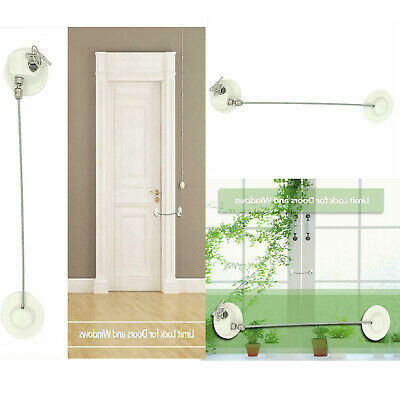 Aluminum Alloy Door Window cabinets Lock Limit Child Safety Doors Security Lock