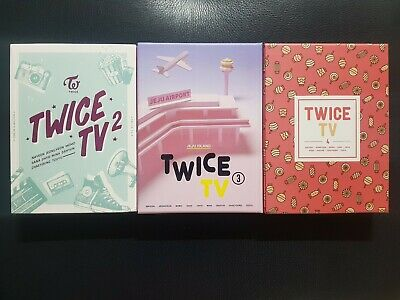 TWICE TV2/TV3/TV4 DVD+Photobook+Postcard(choose member)