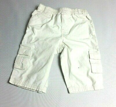 NEXT Baby Boys CARGO Pants Trousers Beige Age 3-6 Months  - COMBINED POSTAGE