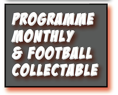 **New** Issue 460 - July 2019  Programme Monthly & Football Collectable Magazine