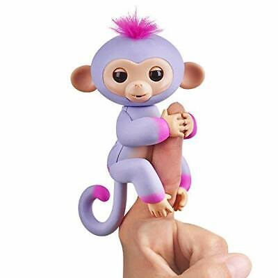 Fingerlings Baby Monkey - Two Tone - Sydney (Purple and Pink) NEW